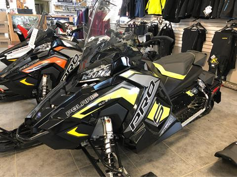 2019 Polaris 800 RUSH PRO-S 1.25 RIPSAW II SnowCheck Select in Fond Du Lac, Wisconsin - Photo 1