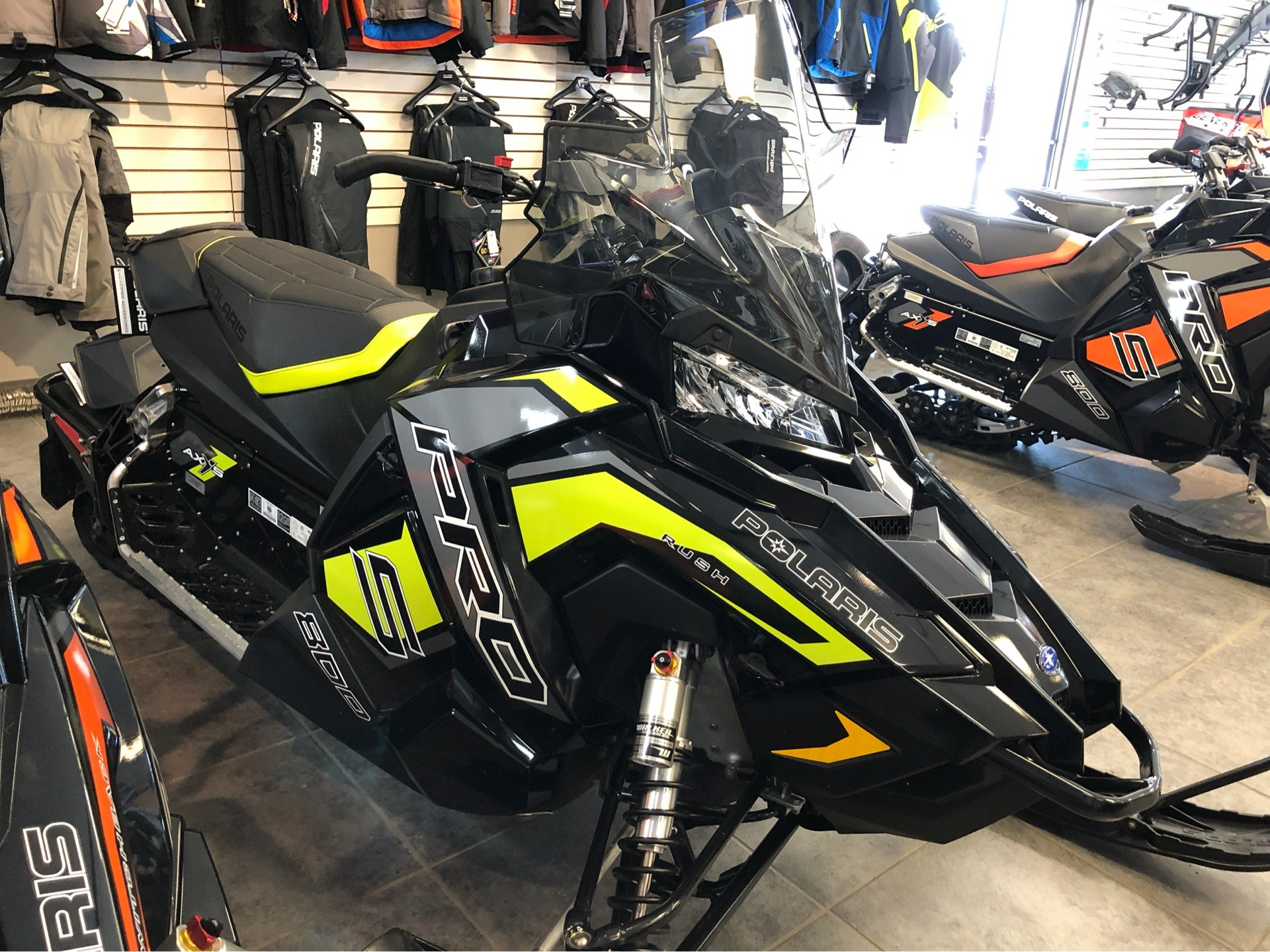 2019 Polaris 800 RUSH PRO-S 1.25 RIPSAW II SnowCheck Select in Fond Du Lac, Wisconsin - Photo 3