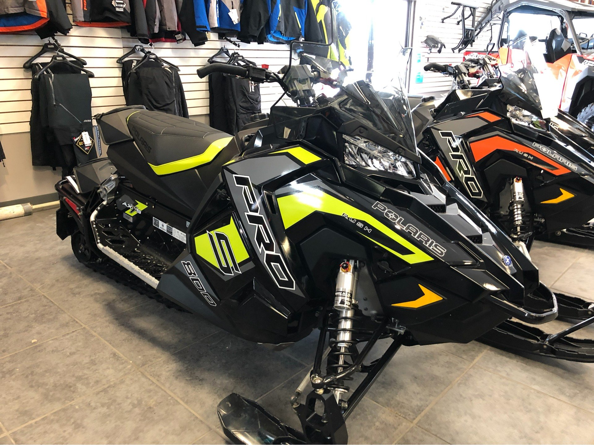 2019 Polaris 800 RUSH PRO-S 1.25 RIPSAW II SnowCheck Select in Fond Du Lac, Wisconsin - Photo 4
