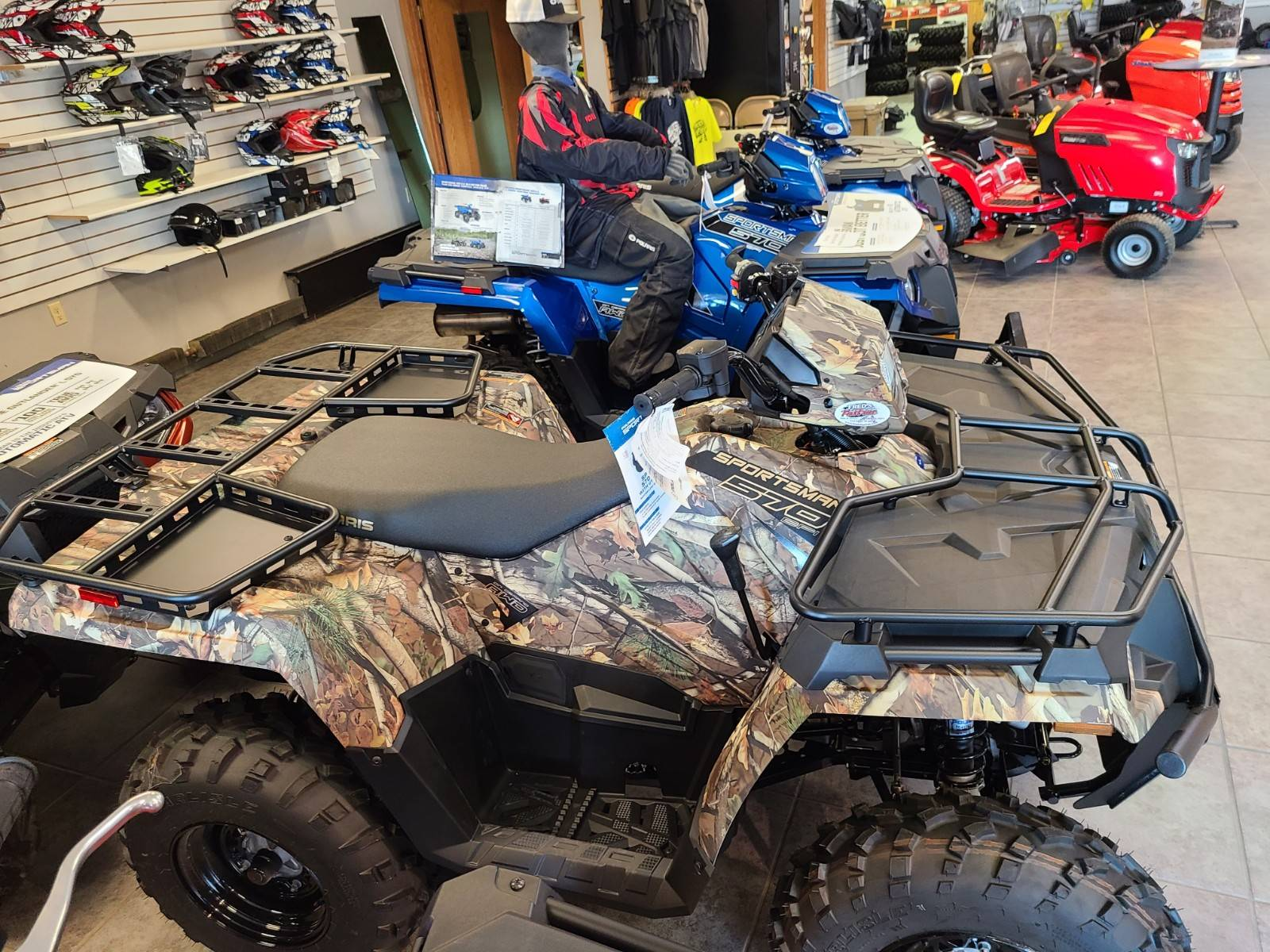 2020 Polaris Sportsman 570 Utility Package in Fond Du Lac, Wisconsin - Photo 2