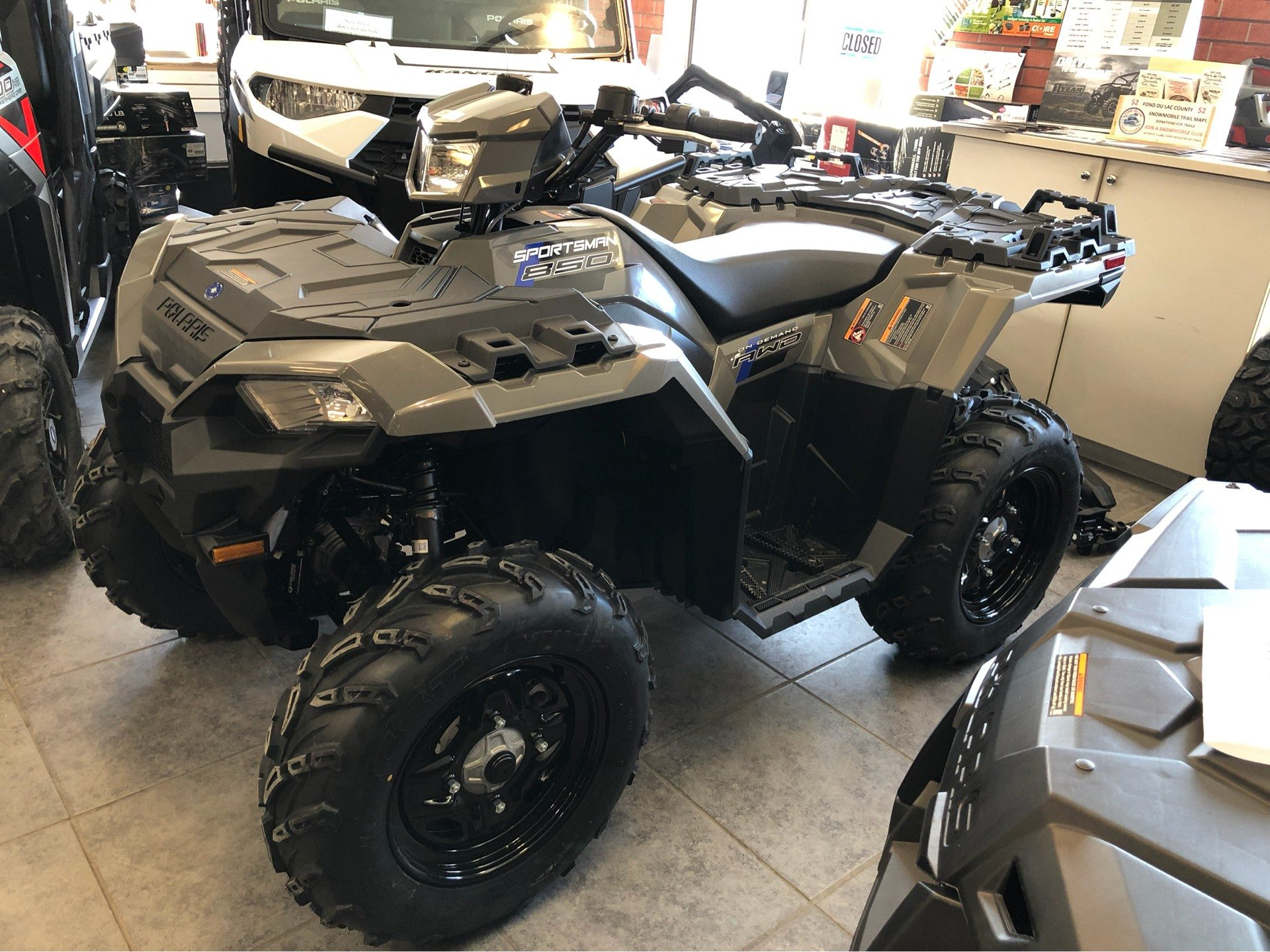 2019 Polaris Sportsman 850 in Fond Du Lac, Wisconsin - Photo 1