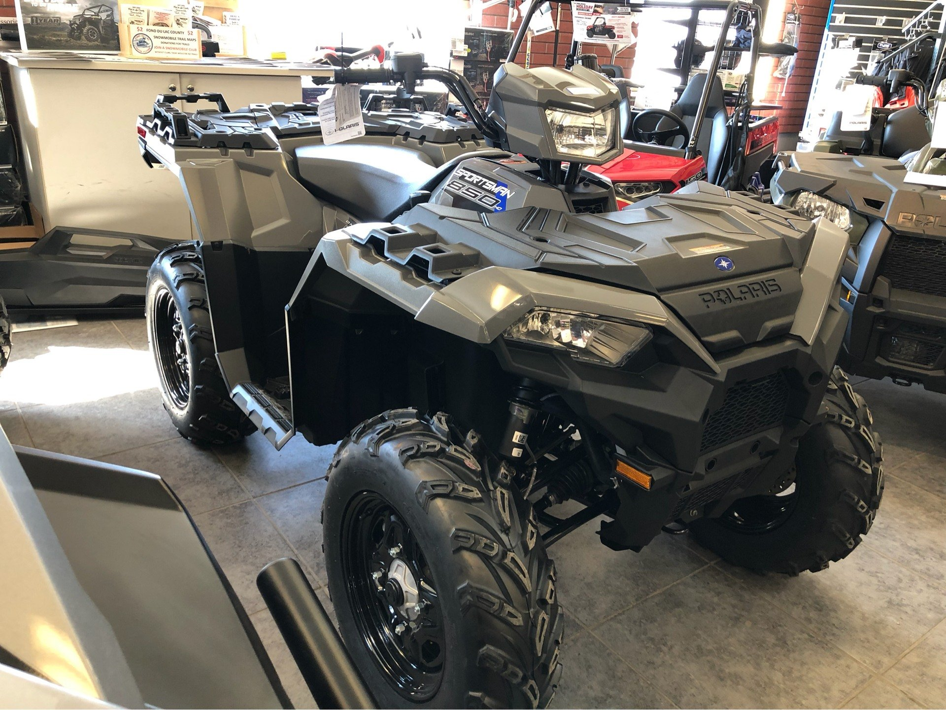 2019 Polaris Sportsman 850 in Fond Du Lac, Wisconsin