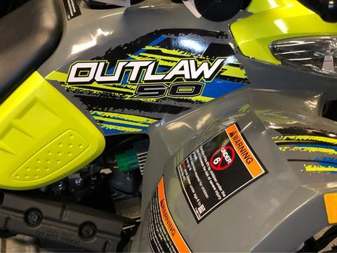 2019 Polaris Outlaw 50 in Fond Du Lac, Wisconsin