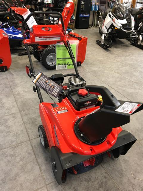 2019 Simplicity Single-Stage with SnowShredder 1222EE in Fond Du Lac, Wisconsin