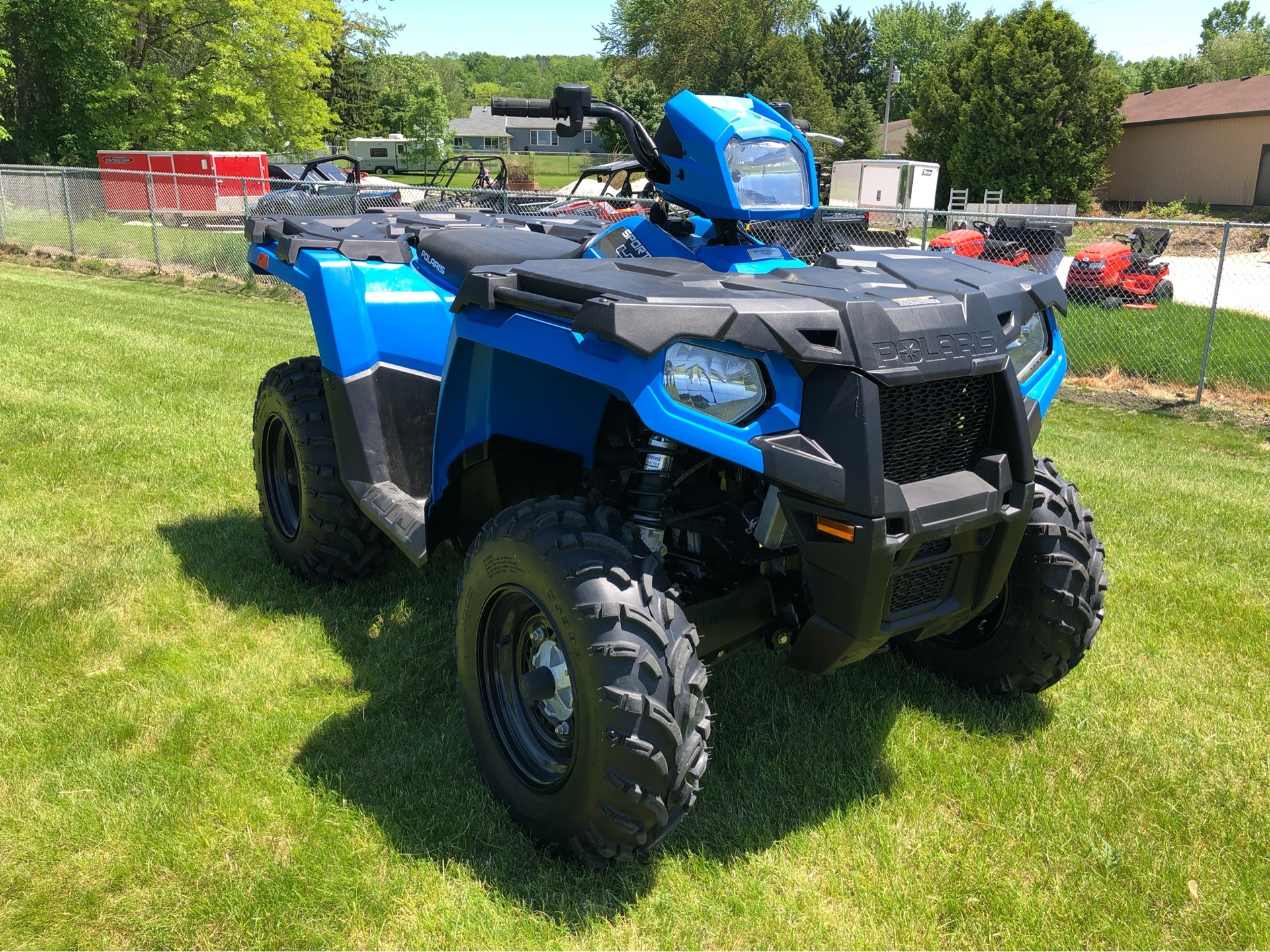 2018 Polaris Sportsman 450 H.O. in Fond Du Lac, Wisconsin - Photo 4