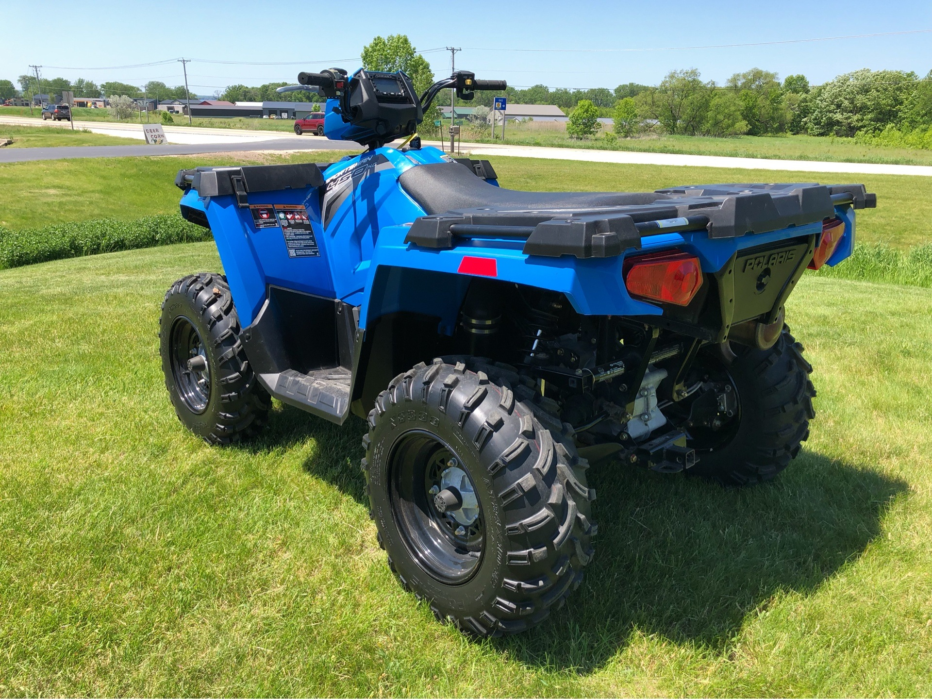 2018 Polaris Sportsman 450 H.O. in Fond Du Lac, Wisconsin - Photo 8