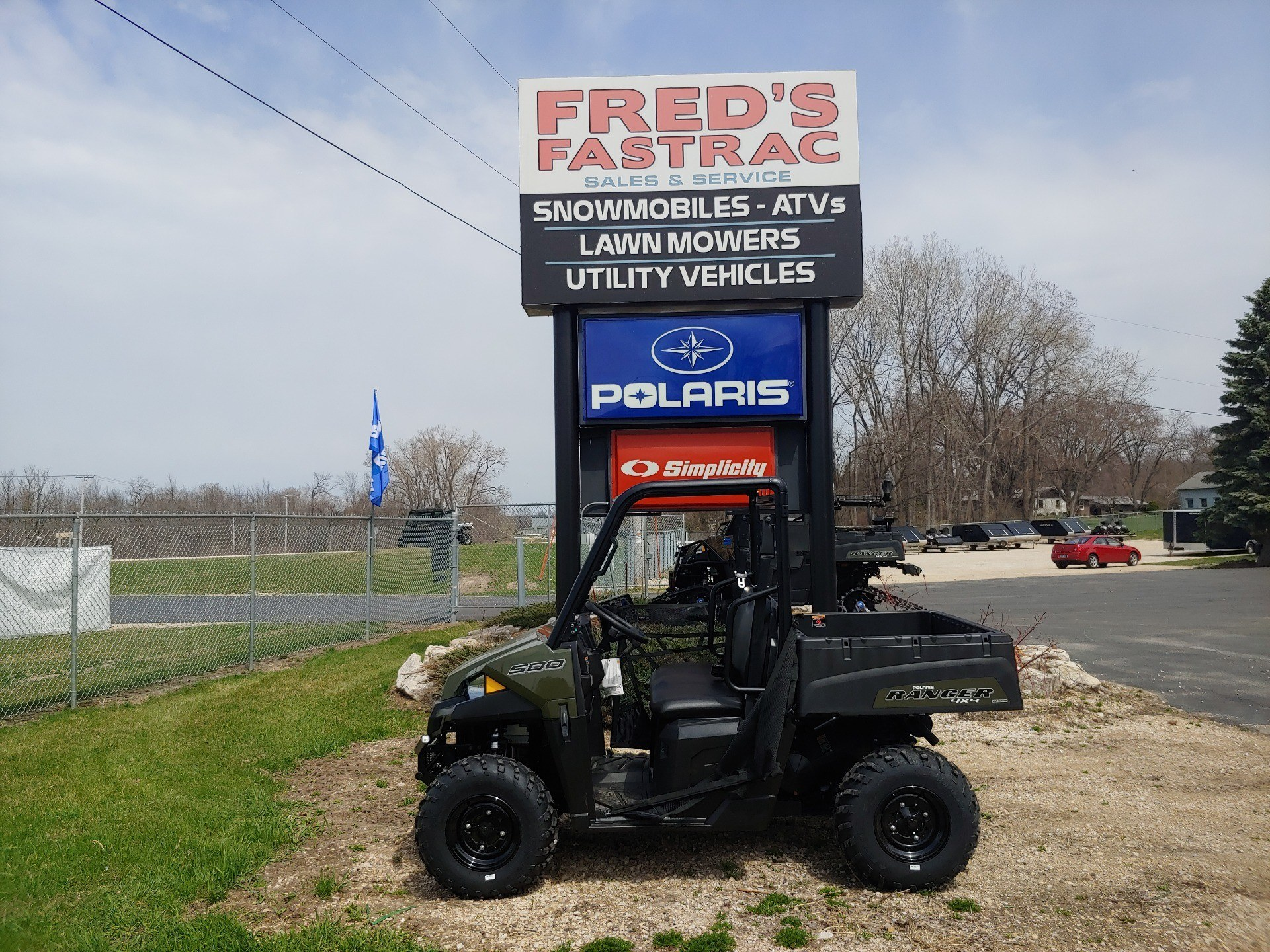 2019 Polaris Ranger 500 in Fond Du Lac, Wisconsin - Photo 3