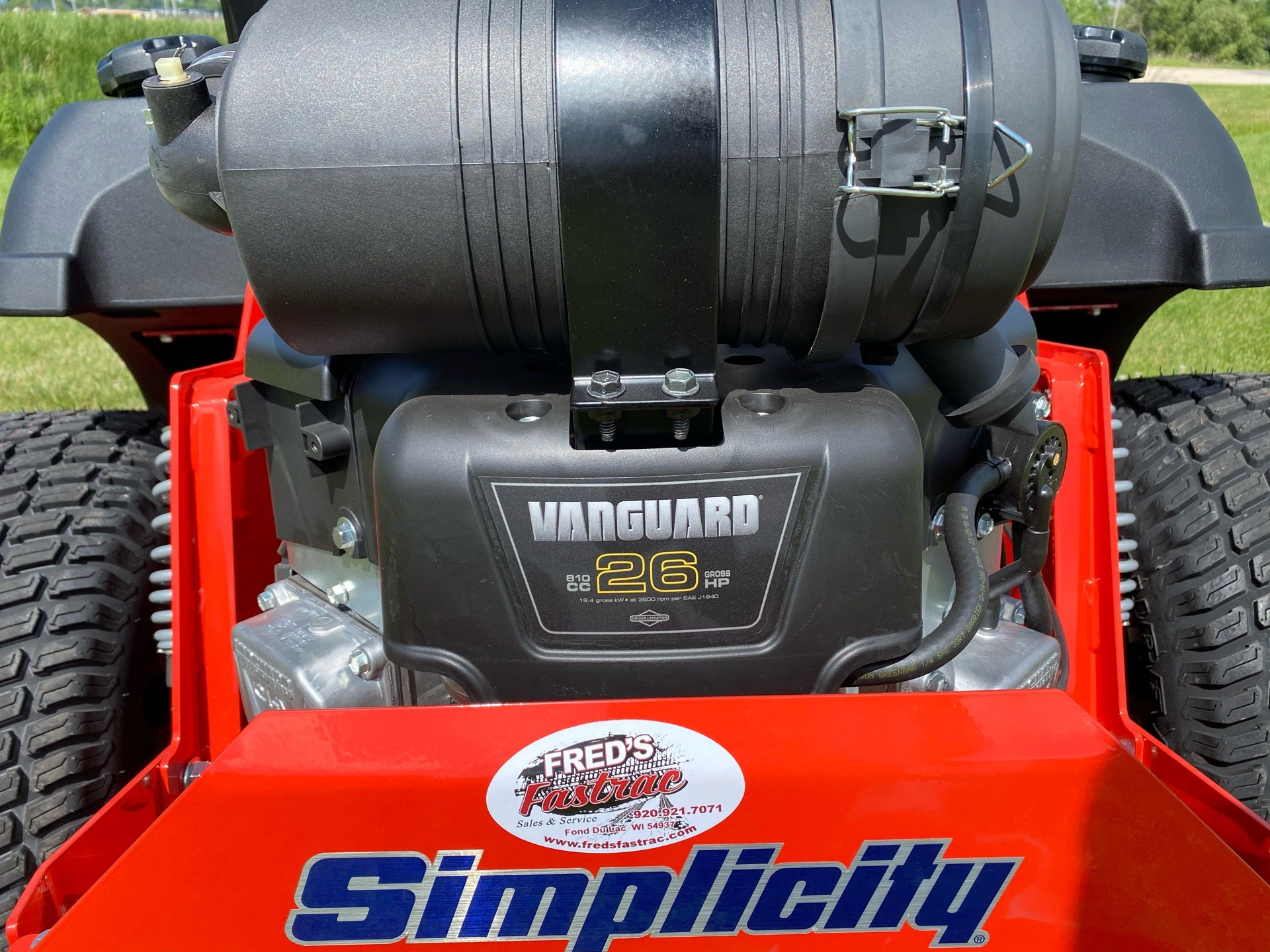 2020 Simplicity Cobalt 61 in. Vanguard 26 hp in Fond Du Lac, Wisconsin - Photo 5