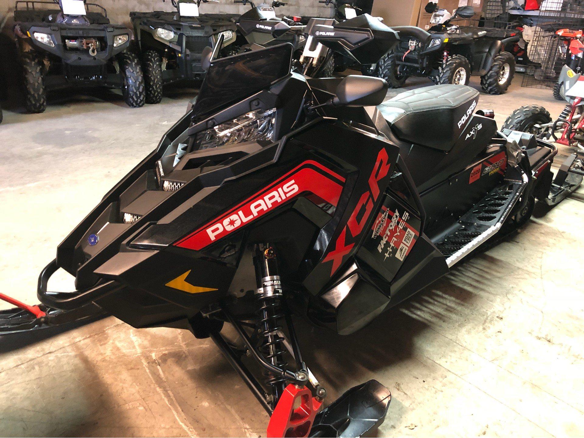 2018 Polaris 800 RUSH XCR SnowCheck Select 5