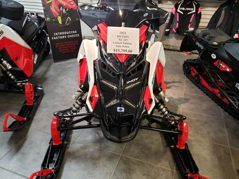 2021 Polaris 850 Indy XC 137 Launch Edition Factory Choice in Fond Du Lac, Wisconsin - Photo 1