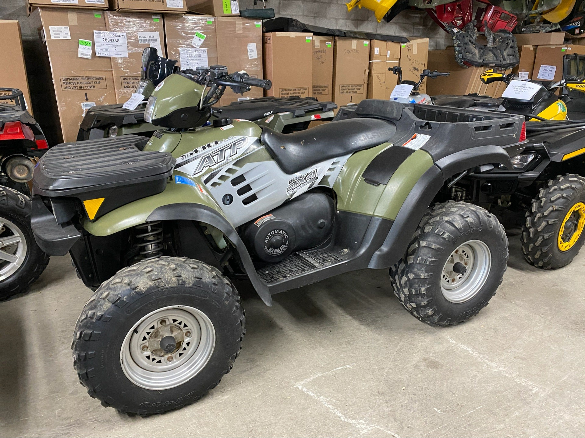 2004 Polaris ATP 500 H.O. in Fond Du Lac, Wisconsin - Photo 1
