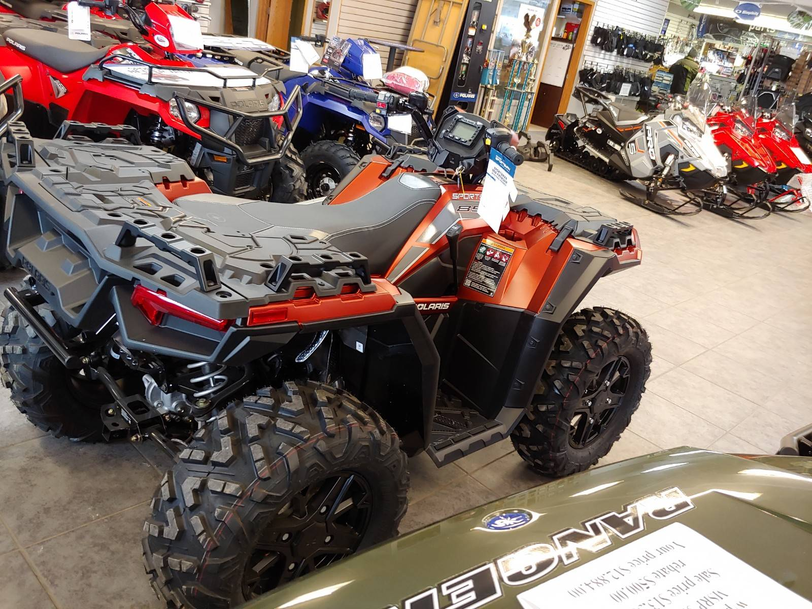2020 Polaris Sportsman 850 Premium Trail Package in Fond Du Lac, Wisconsin - Photo 5