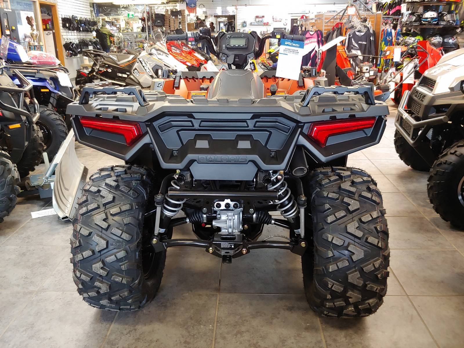 2020 Polaris Sportsman 850 Premium Trail Package in Fond Du Lac, Wisconsin - Photo 7
