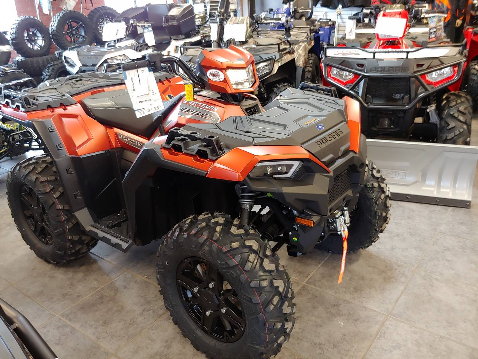 2020 Polaris Sportsman 850 Premium Trail Package in Fond Du Lac, Wisconsin - Photo 3