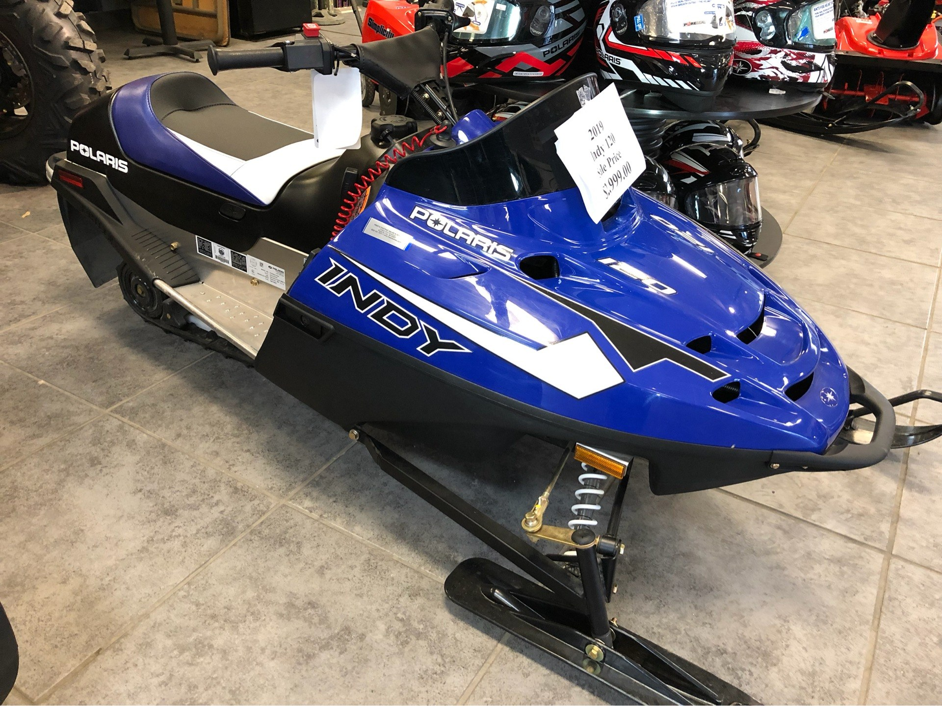 2019 Polaris 120 INDY in Fond Du Lac, Wisconsin