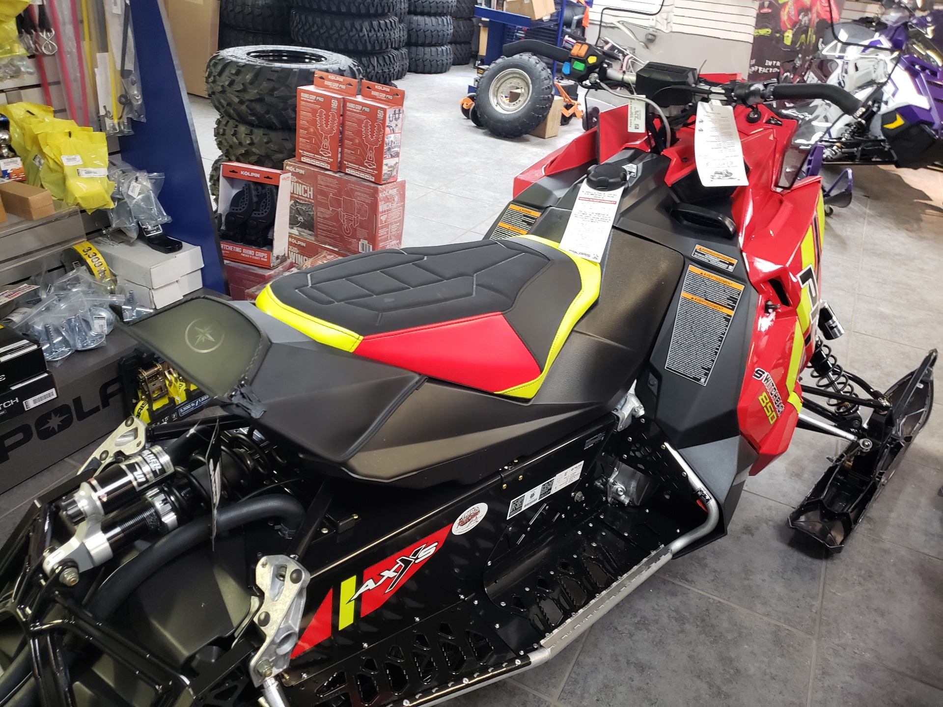2021 Polaris 850 Switchback PRO-S Factory Choice in Fond Du Lac, Wisconsin - Photo 5