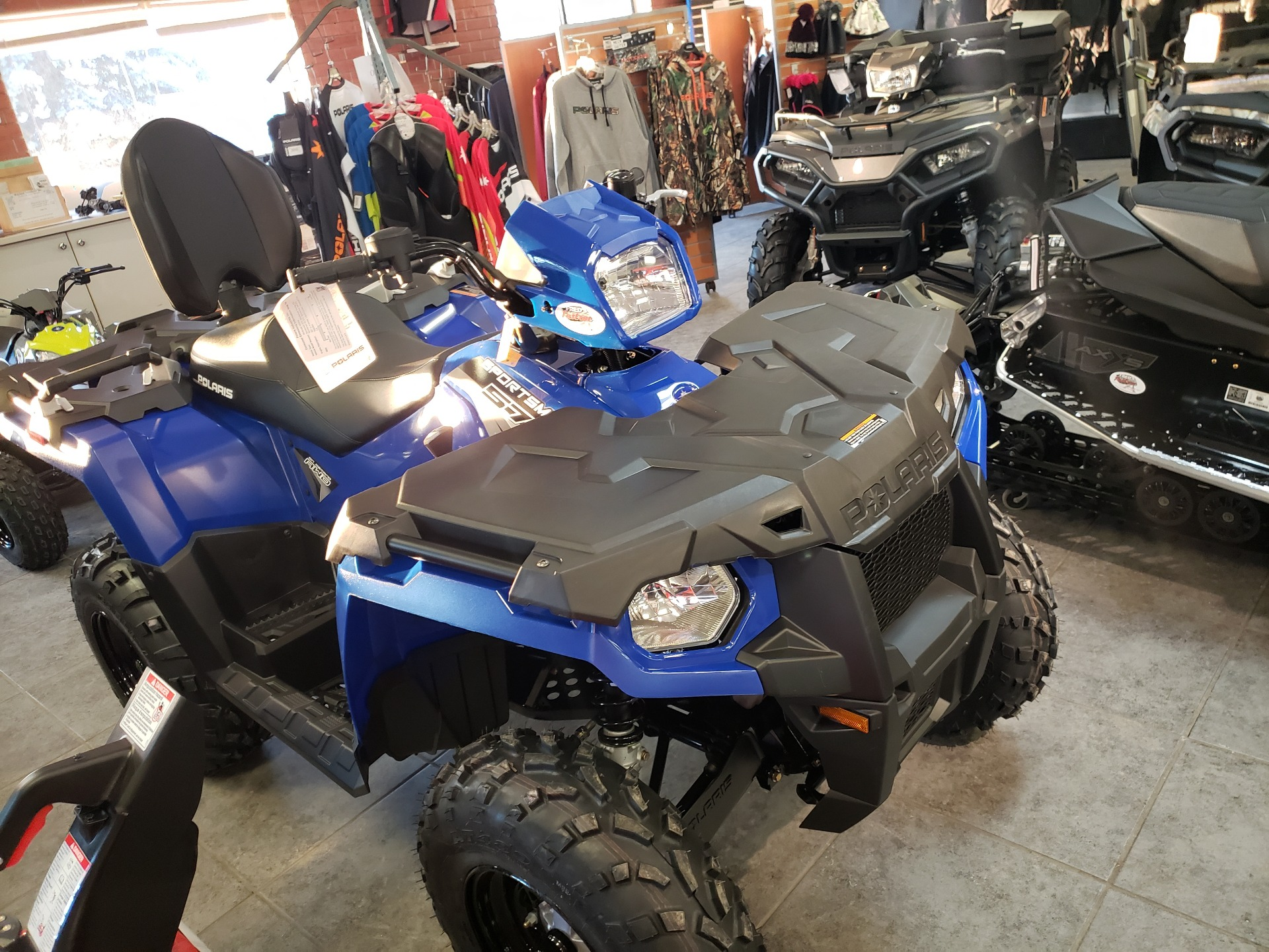 2021 Polaris Sportsman Touring 570 in Fond Du Lac, Wisconsin - Photo 2