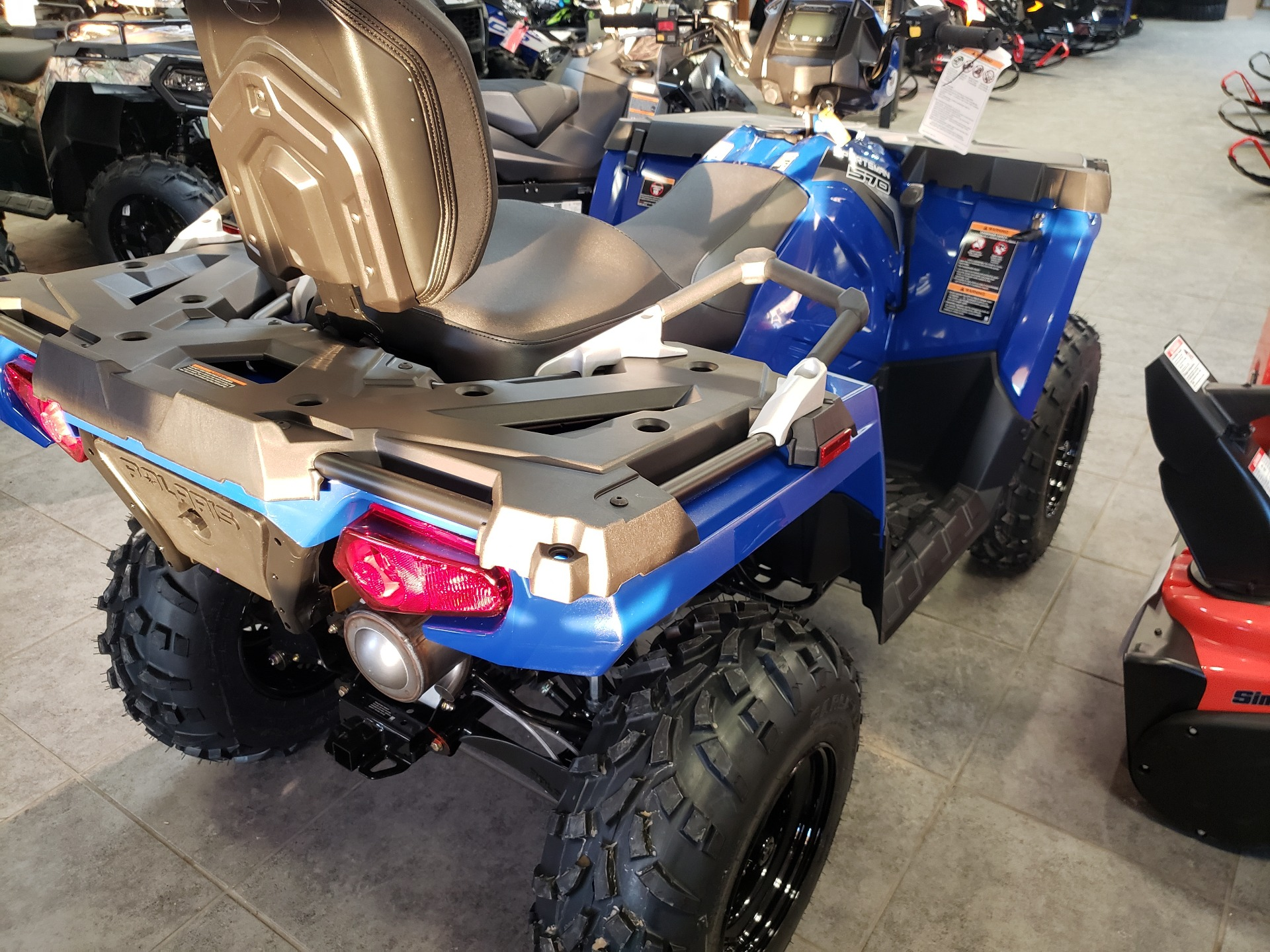 2021 Polaris Sportsman Touring 570 in Fond Du Lac, Wisconsin - Photo 5