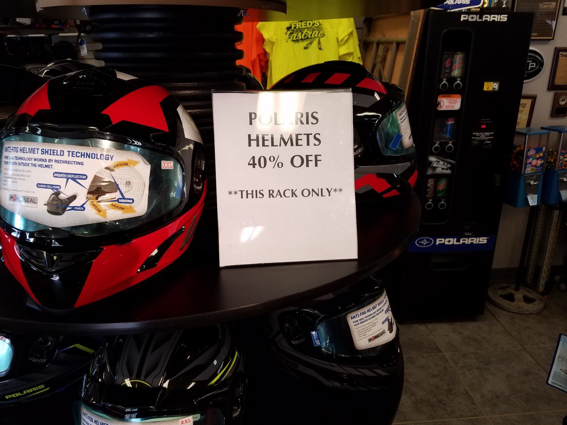 2019 Polaris HELMET in Fond Du Lac, Wisconsin - Photo 1