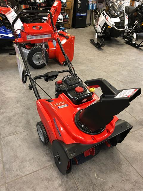 2019 Simplicity Single-Stage with SnowShredder 1022EE in Fond Du Lac, Wisconsin