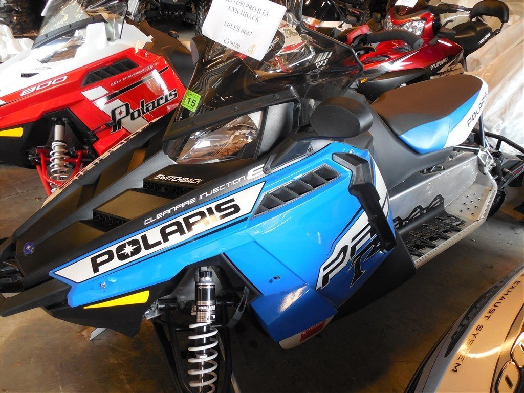 Used 2013 Polaris 600 Switchback® PRO-R ES Snowmobiles in Fond Du ...