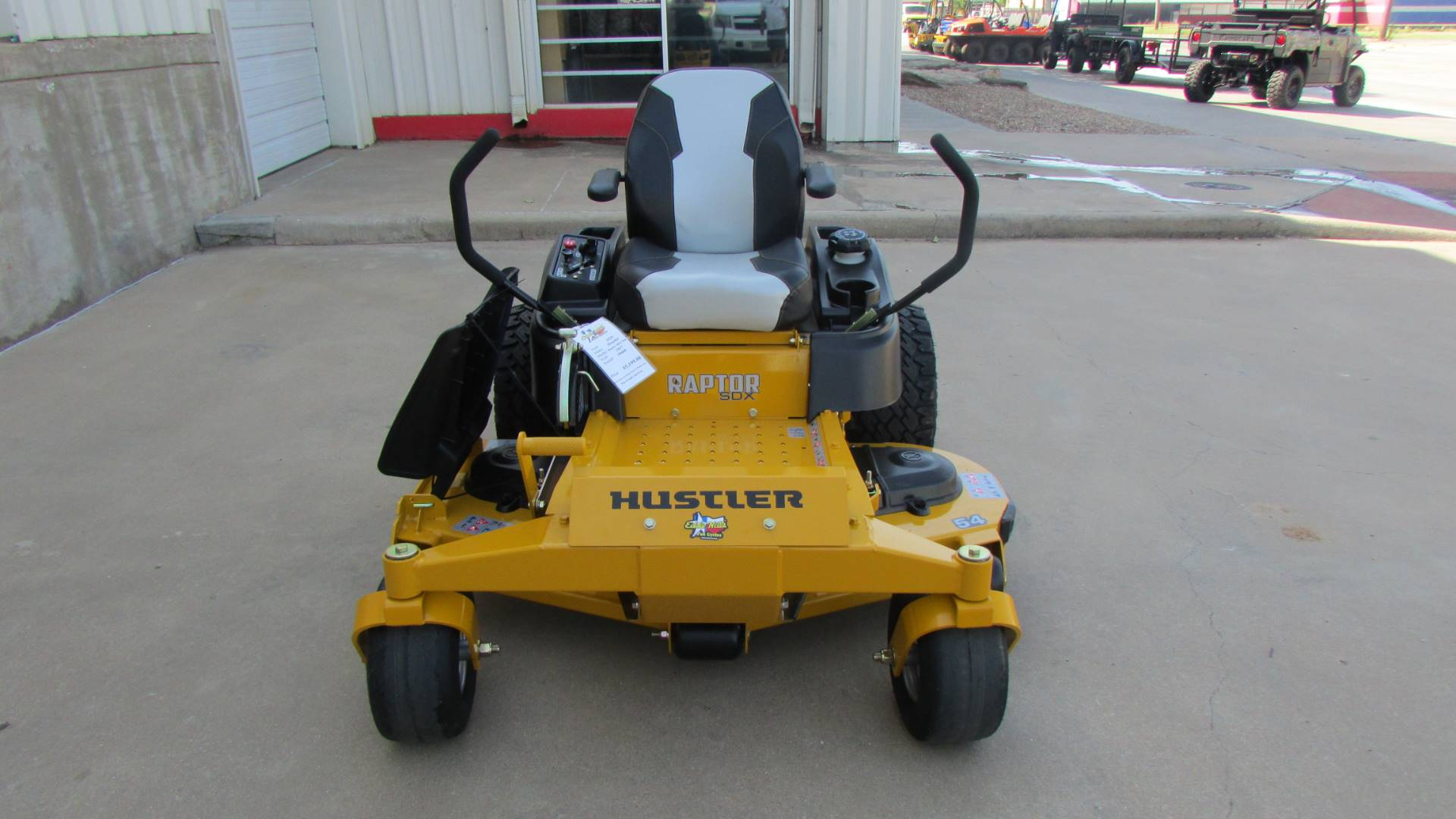 2020 Hustler Turf Equipment Raptor SDX 60 in. Kawasaki 24 hp in Wichita Falls, Texas - Photo 3