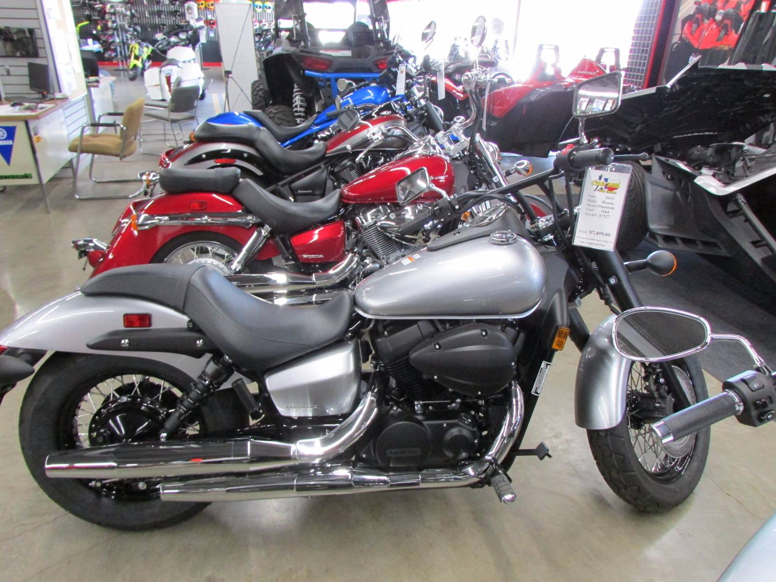 2015 Honda Shadow Phantom® in Wichita Falls, Texas
