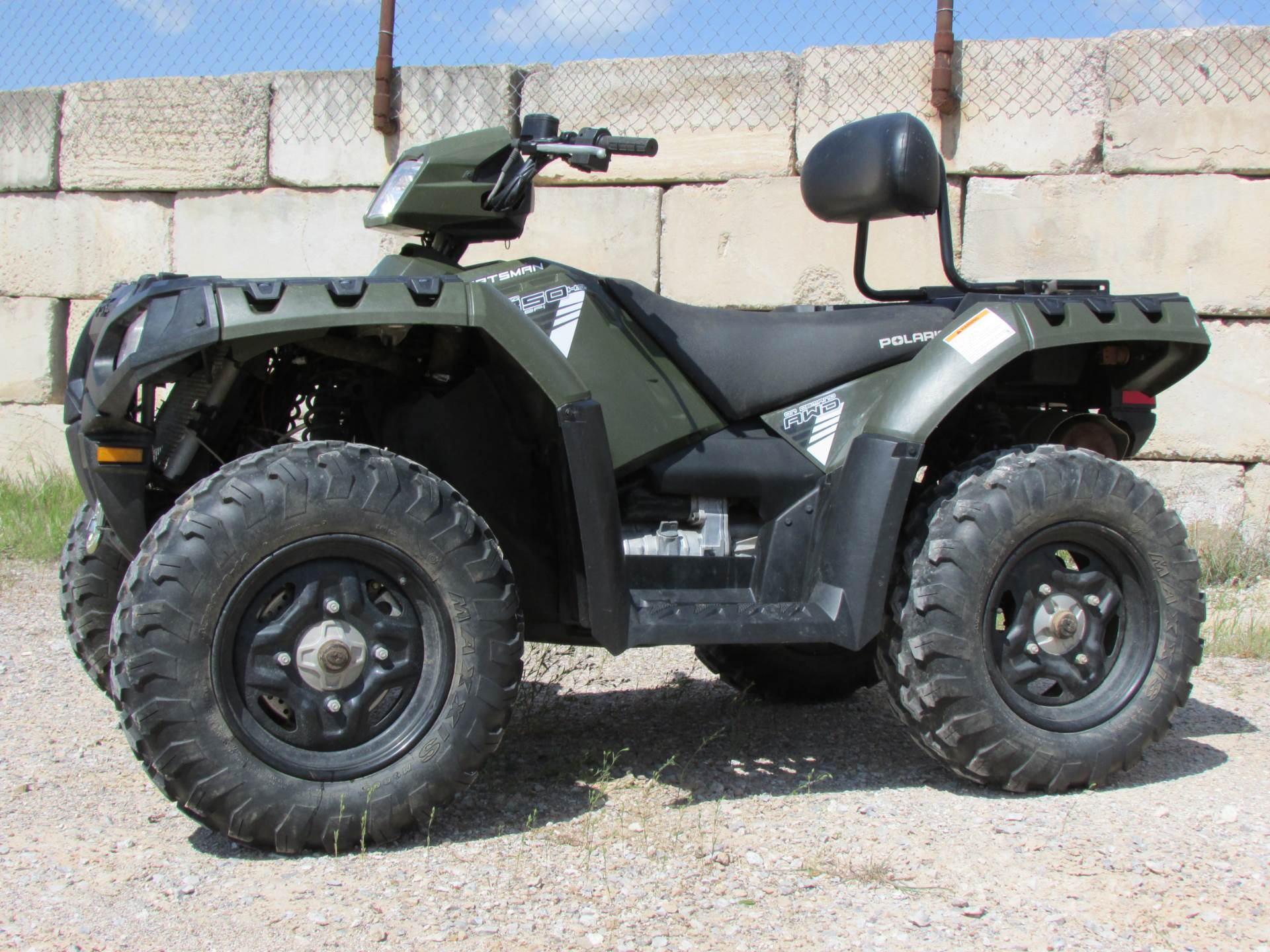 2015 Polaris Sportsman® 850 in Wichita Falls, Texas - Photo 7