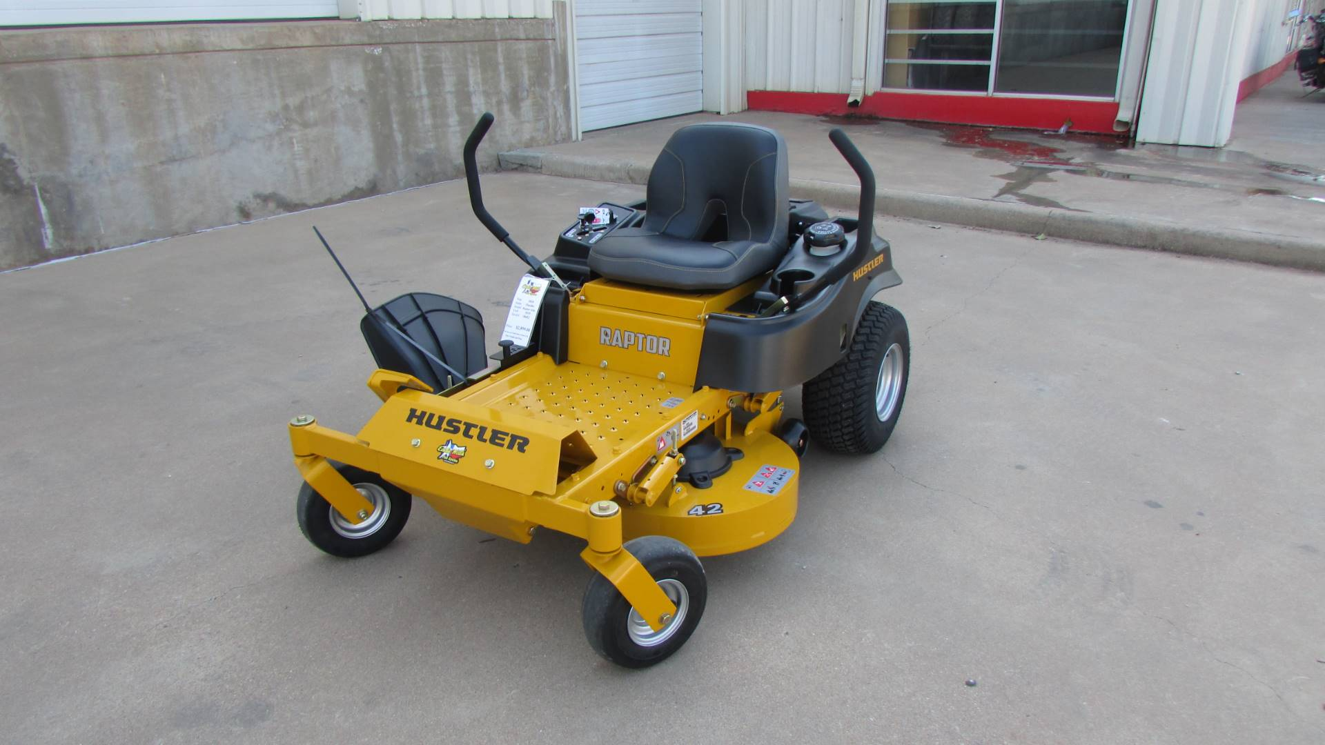 2020 Hustler Turf Equipment Raptor 52 in. Kawasaki 23 hp in Wichita Falls, Texas - Photo 2
