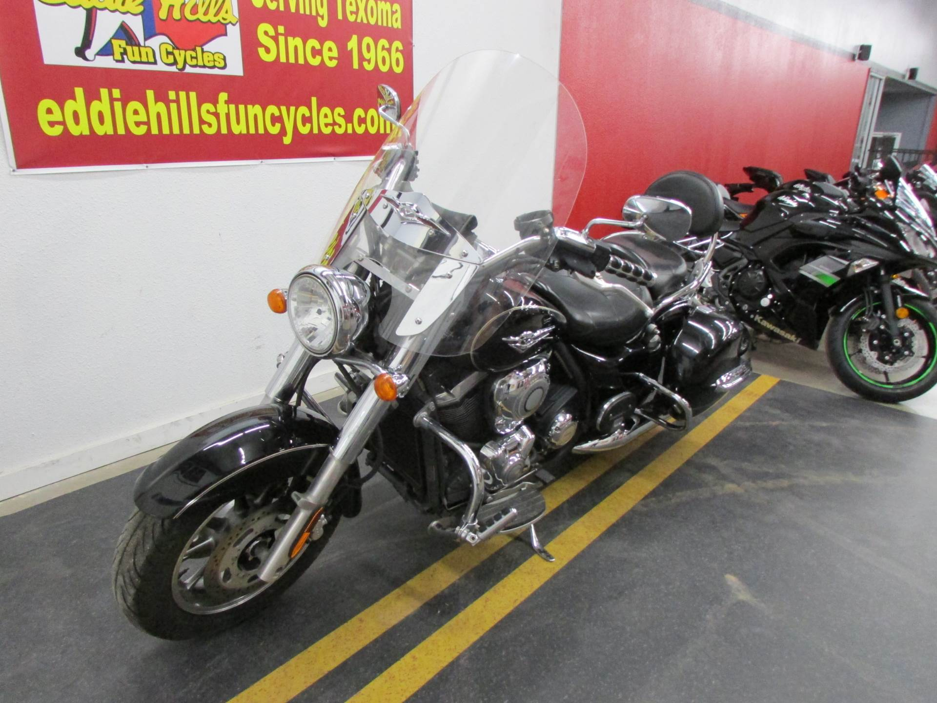 2009 Kawasaki Vulcan® 1700 Nomad™ in Wichita Falls, Texas - Photo 7