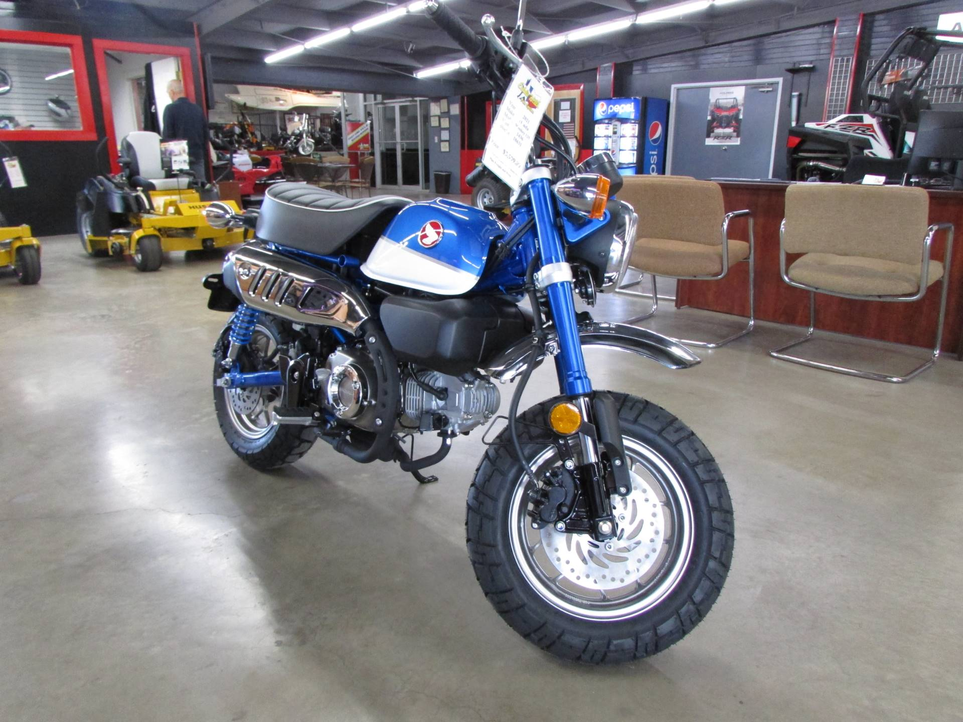 2021 Honda Monkey in Wichita Falls, Texas - Photo 3