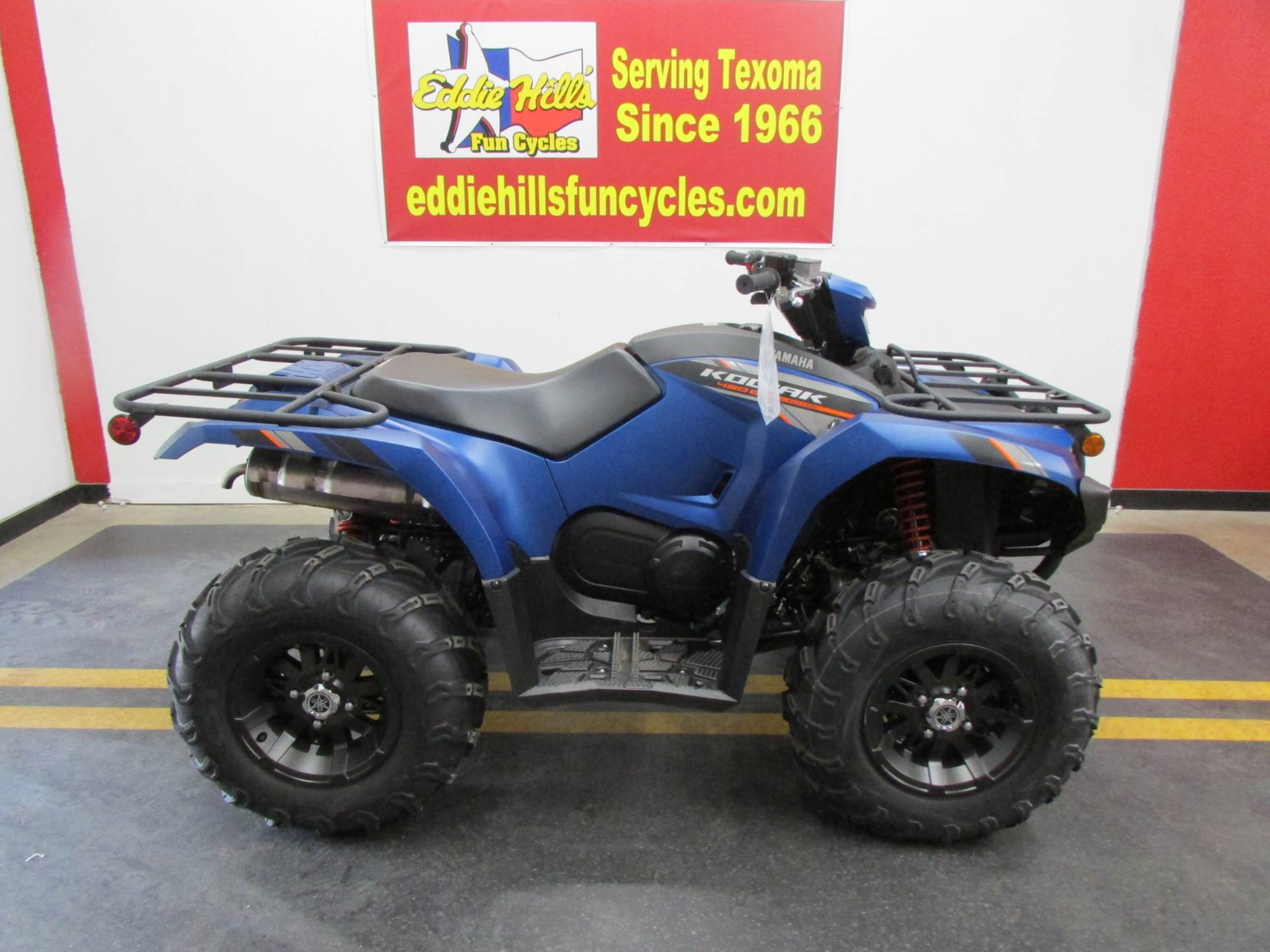 2019 Yamaha Kodiak 450 EPS SE in Wichita Falls, Texas - Photo 1