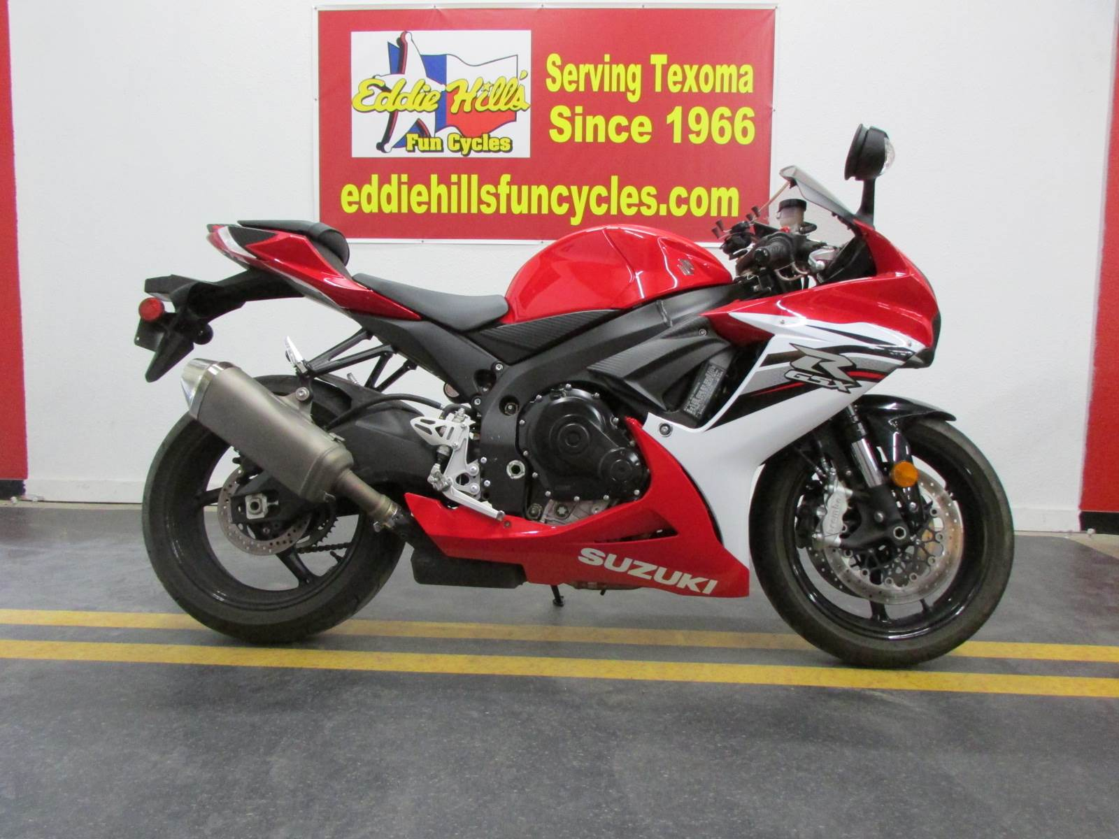 2013 Suzuki GSX-R600™ in Wichita Falls, Texas