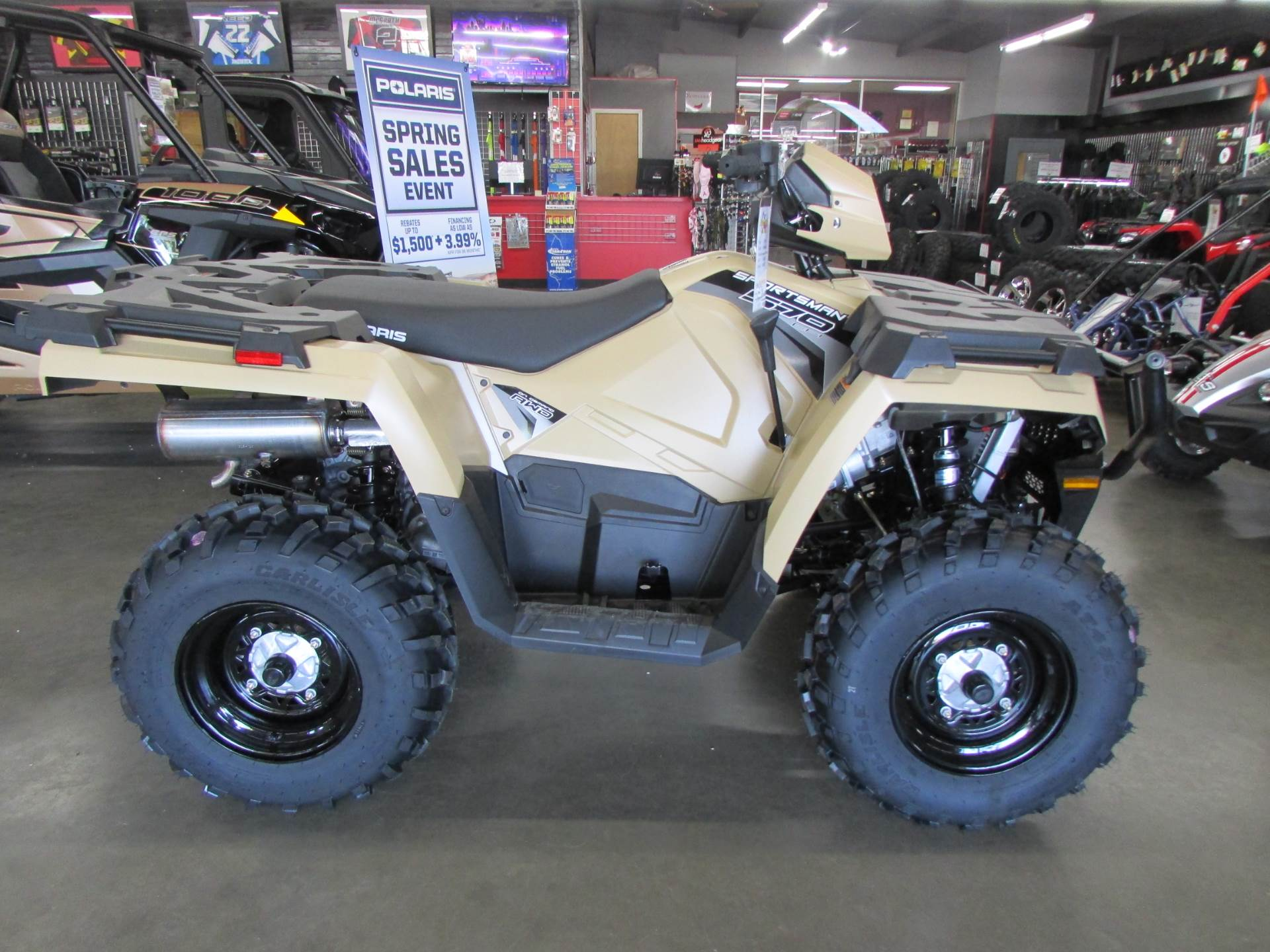 2019 Polaris Sportsman 570 EPS LE in Wichita Falls, Texas - Photo 1