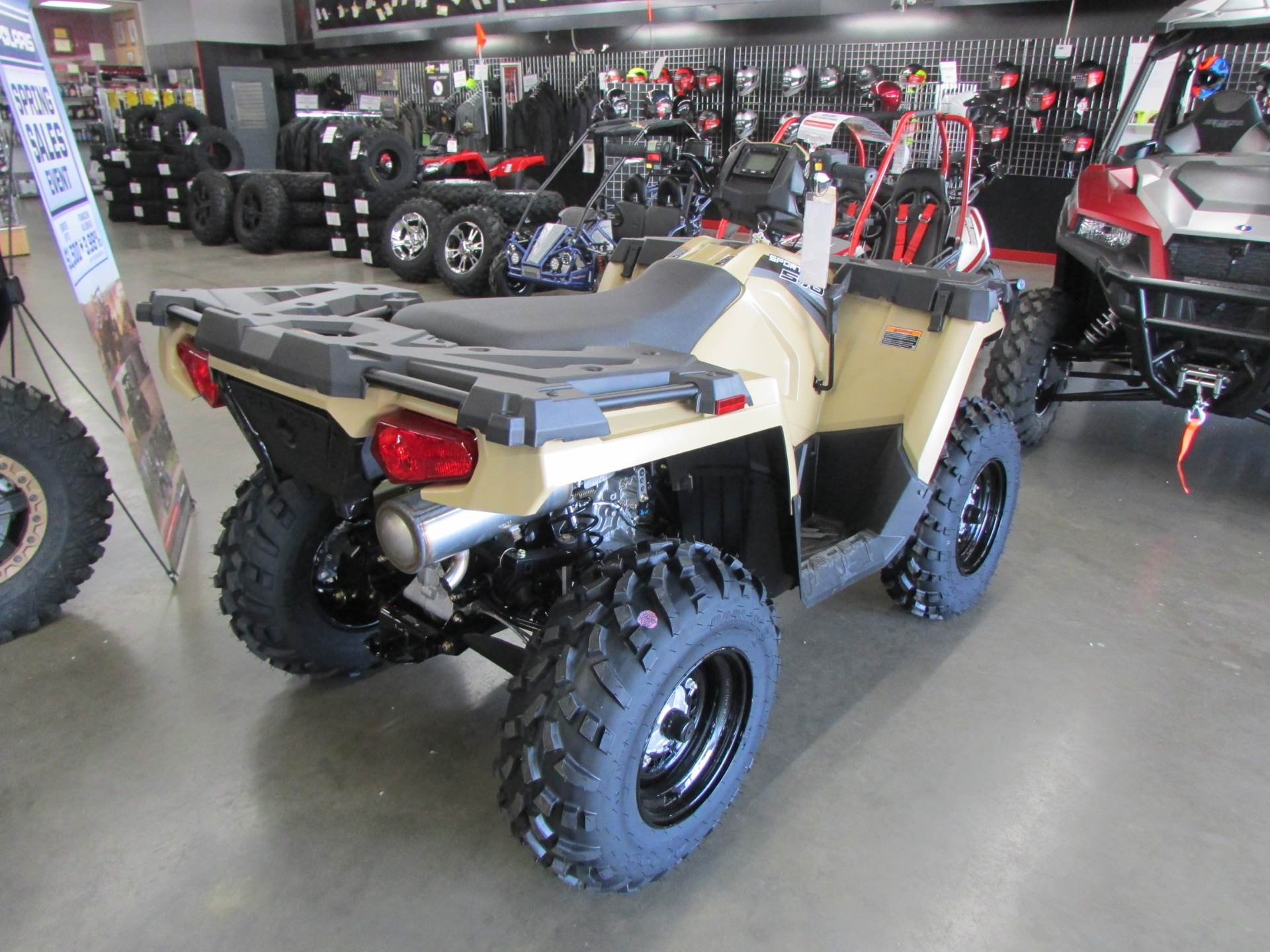 2019 Polaris Sportsman 570 EPS LE in Wichita Falls, Texas - Photo 3