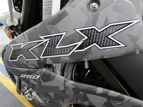 2020 Kawasaki KLX 250 Camo in Wichita Falls, Texas - Photo 10