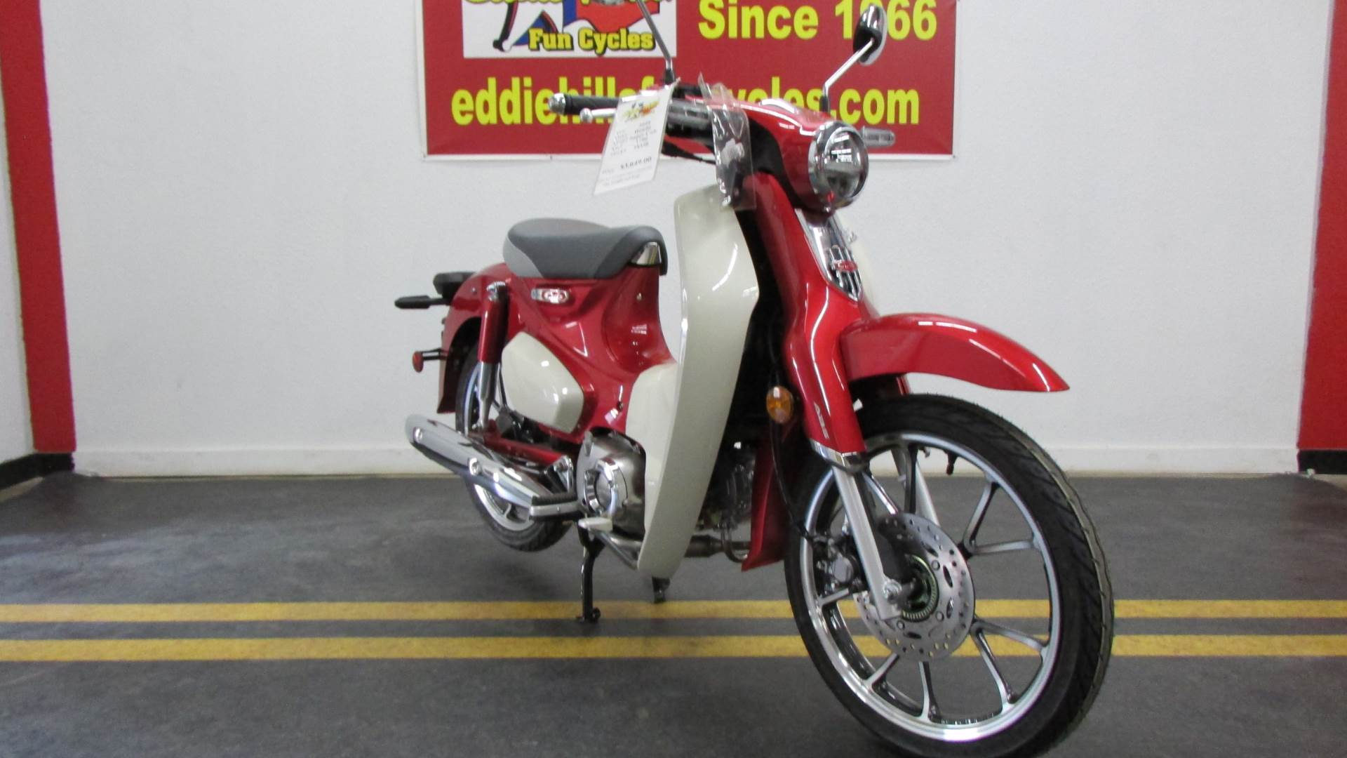 2020 Honda Super Cub C125 ABS in Wichita Falls, Texas - Photo 3