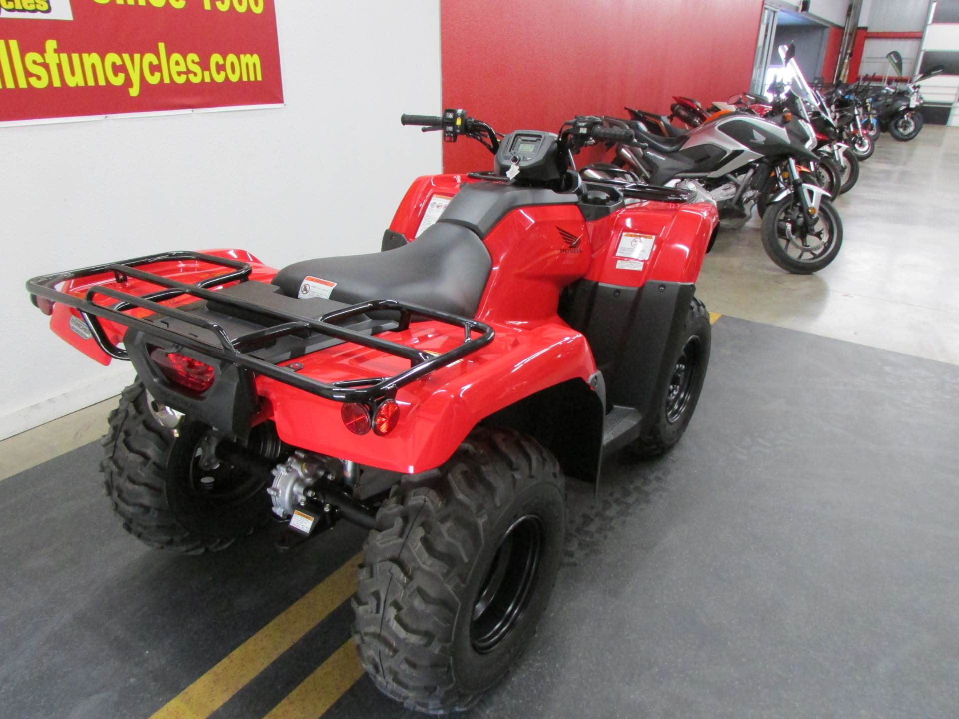 2019 Honda TRX420FA2 in Wichita Falls, Texas - Photo 3
