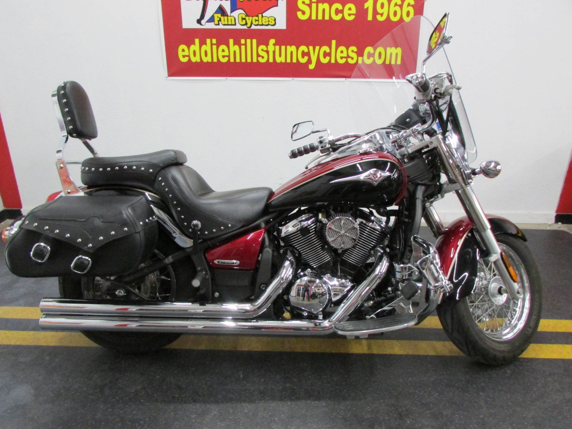 2008 Kawasaki Vulcan® 900 Classic LT in Wichita Falls, Texas - Photo 1