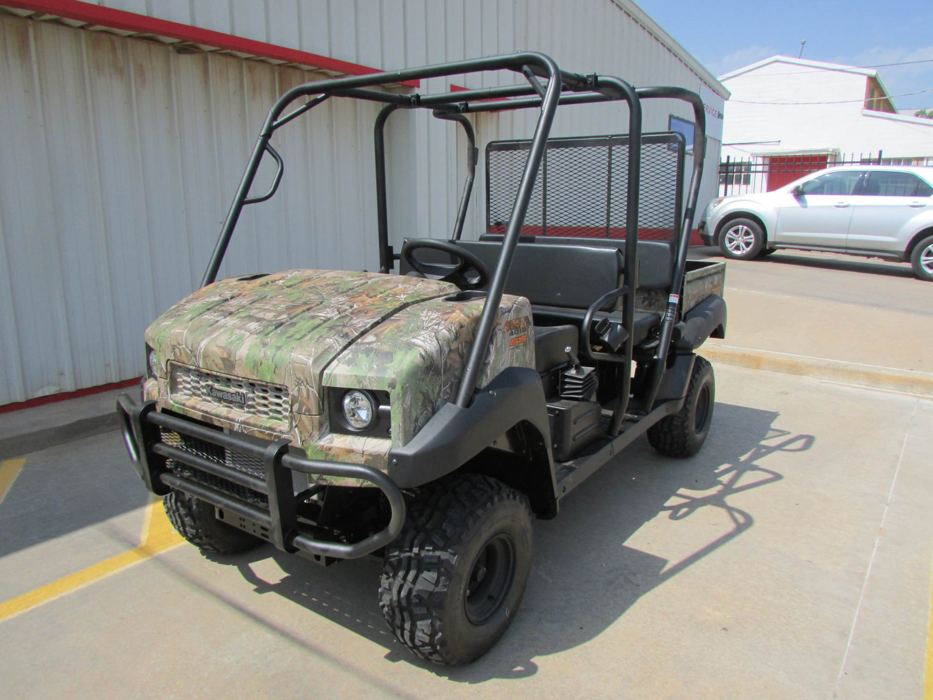 2019 Kawasaki Mule 4010 Trans4x4 Camo in Wichita Falls, Texas - Photo 2