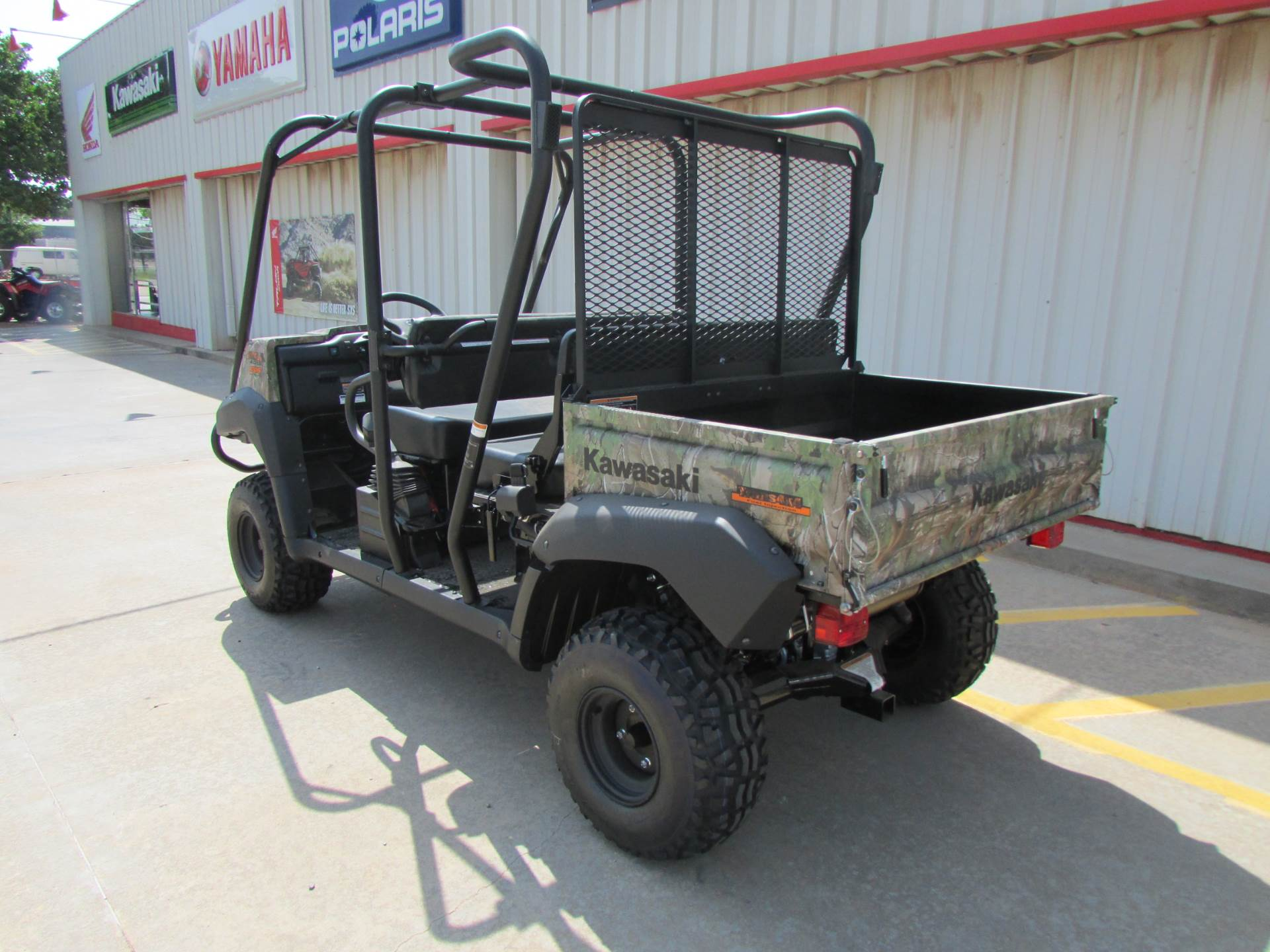 2019 Kawasaki Mule 4010 Trans4x4 Camo in Wichita Falls, Texas - Photo 3