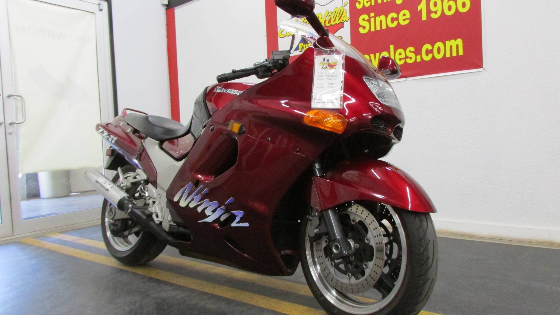 1996 Kawasaki 1100 Ninja in Wichita Falls, Texas - Photo 3