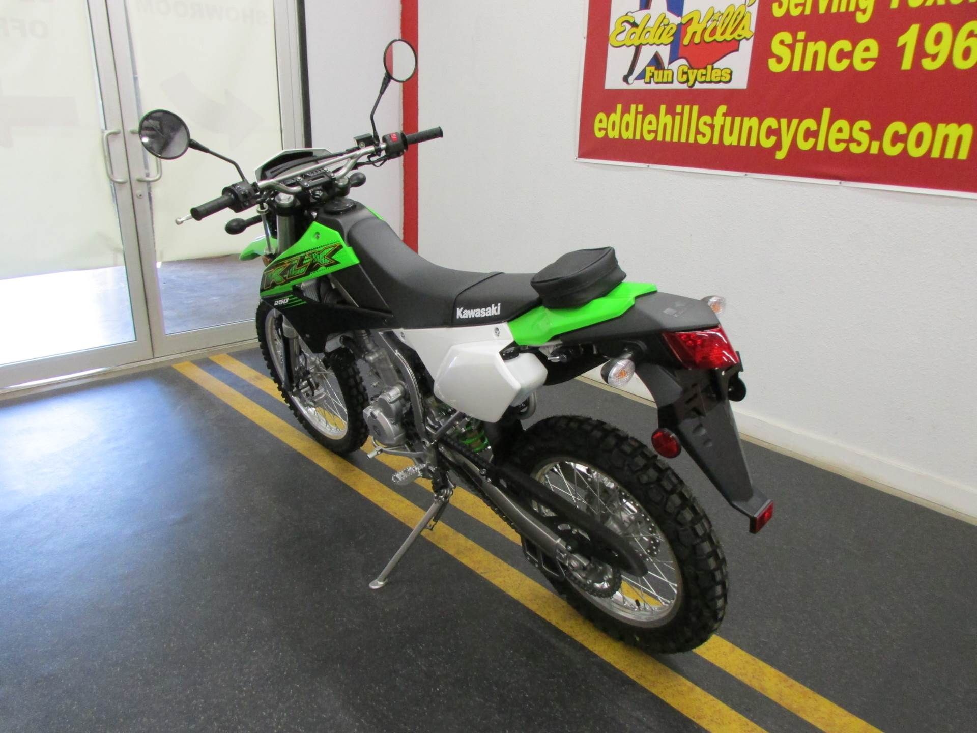 2020 Kawasaki KLX 250 in Wichita Falls, Texas - Photo 8