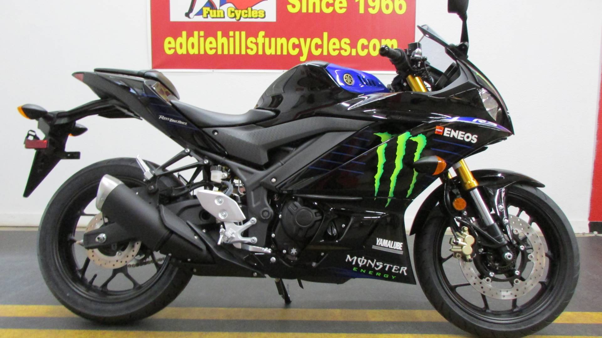 2021 Yamaha YZF-R3 ABS Monster Energy Yamaha MotoGP Edition in Wichita Falls, Texas - Photo 1