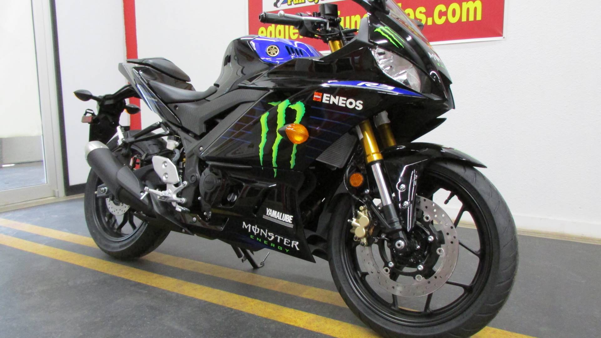2021 Yamaha YZF-R3 ABS Monster Energy Yamaha MotoGP Edition in Wichita Falls, Texas - Photo 3