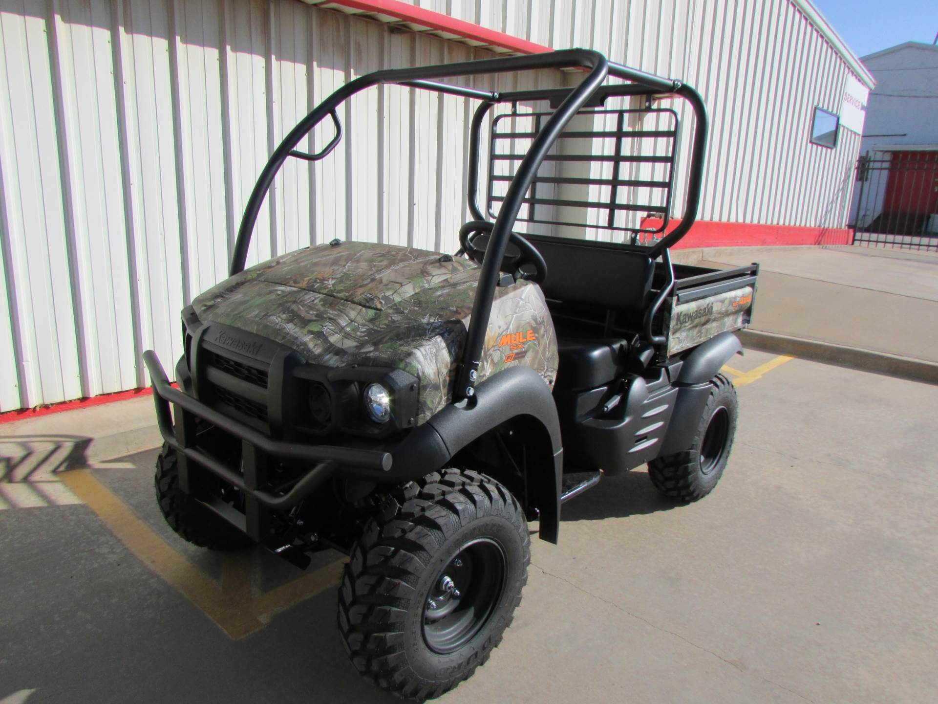 2019 Kawasaki Mule SX 4X4 XC Camo FI in Wichita Falls, Texas - Photo 2
