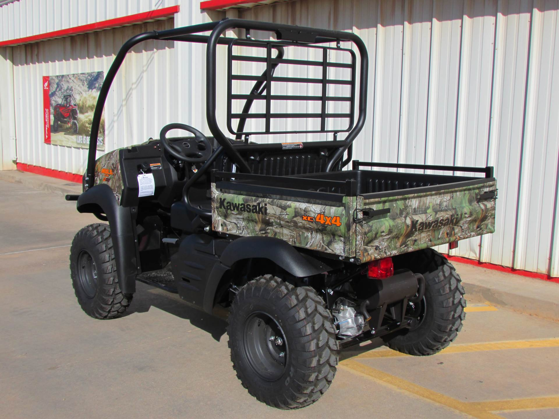 2019 Kawasaki Mule SX 4X4 XC Camo FI in Wichita Falls, Texas - Photo 4