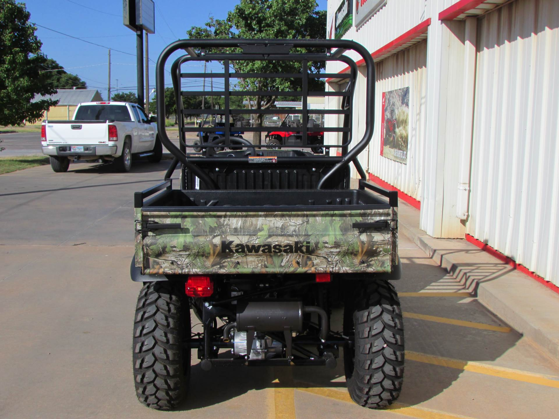 2019 Kawasaki Mule SX 4X4 XC Camo FI in Wichita Falls, Texas - Photo 5