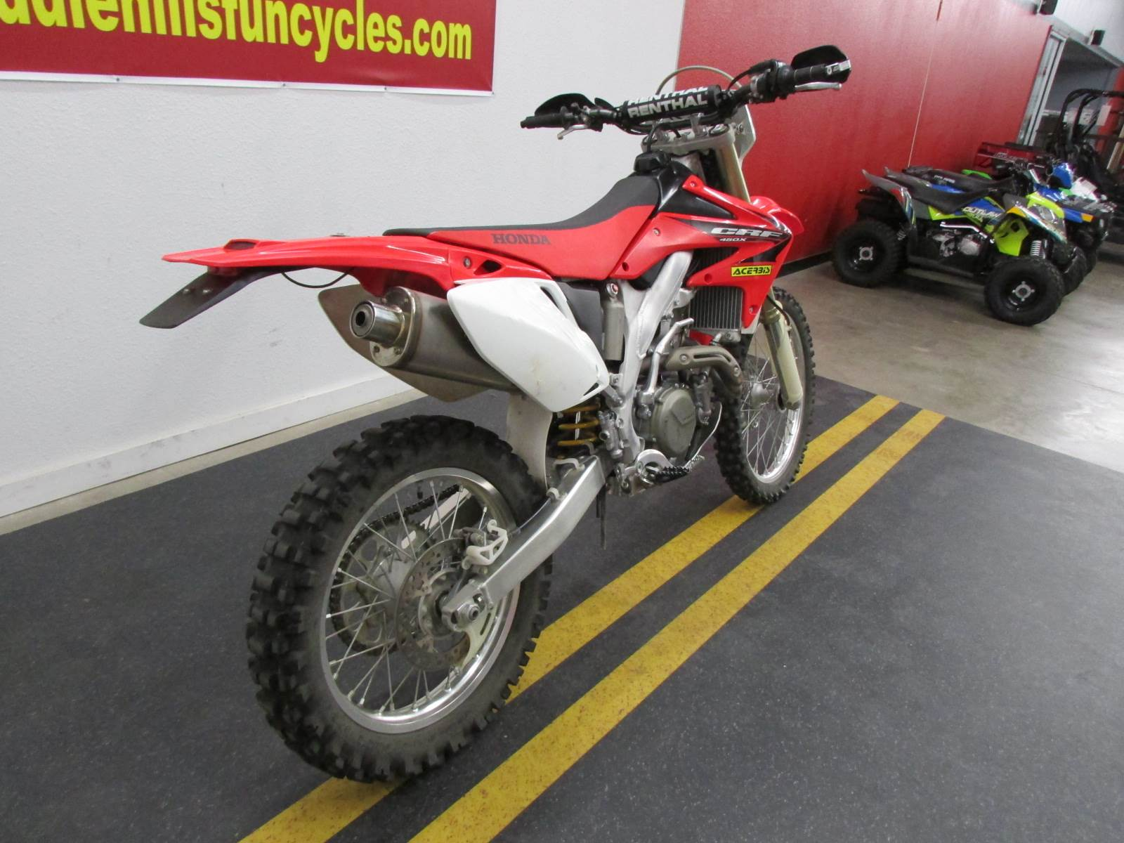 2005 Honda CRF450X in Wichita Falls, Texas - Photo 3