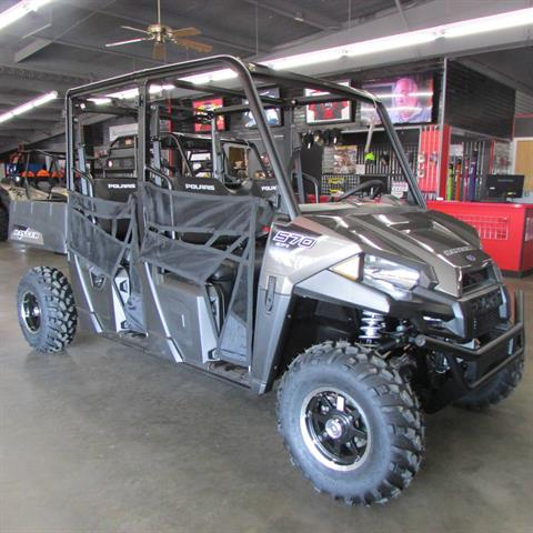 2021 Polaris Ranger Crew 570 Premium in Wichita Falls, Texas - Photo 2